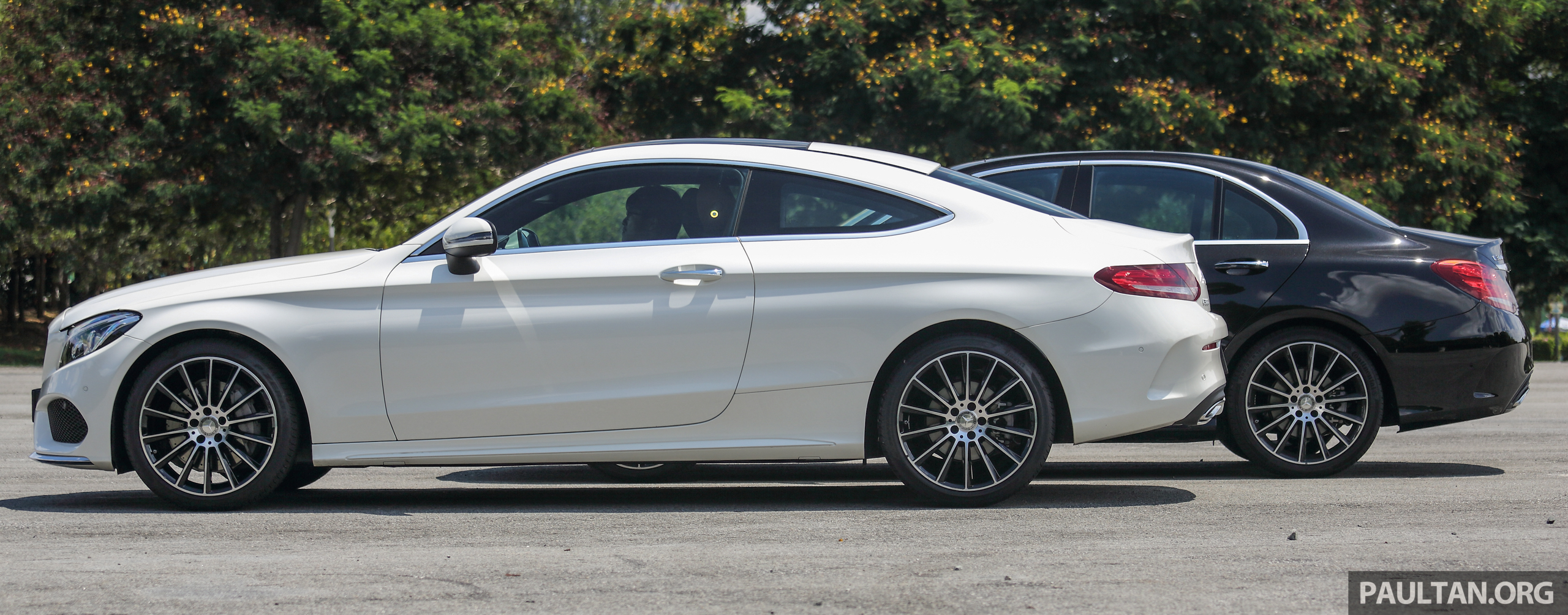 Sedan Vs Coupe >> GALLERY: Mercedes-Benz C300 Coupe vs sedan Image 495925