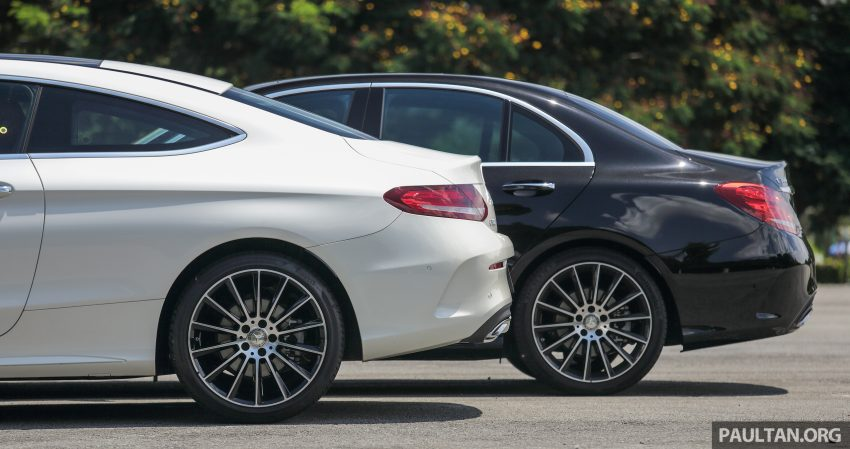 GALLERY: Mercedes-Benz C300 Coupe vs sedan Image #495926
