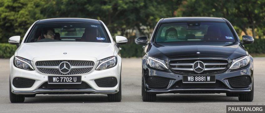GALLERY: Mercedes-Benz C300 Coupe vs sedan Image #495910