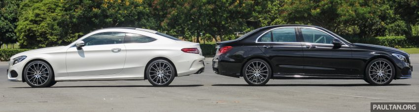 GALLERY: Mercedes-Benz C300 Coupe vs sedan Image #495913