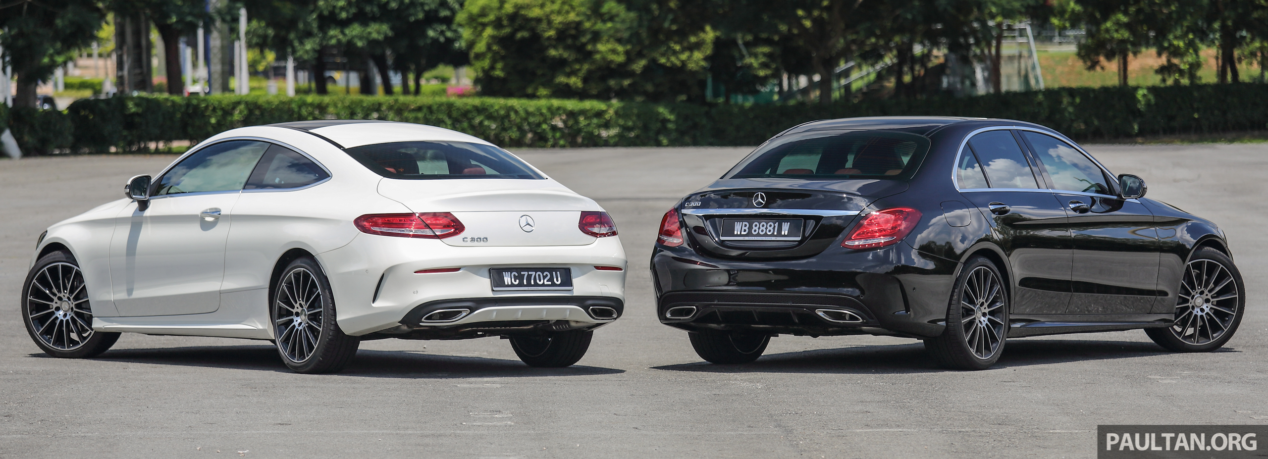 Gallery Mercedes Benz C300 Coupe Vs Sedan Image 495917