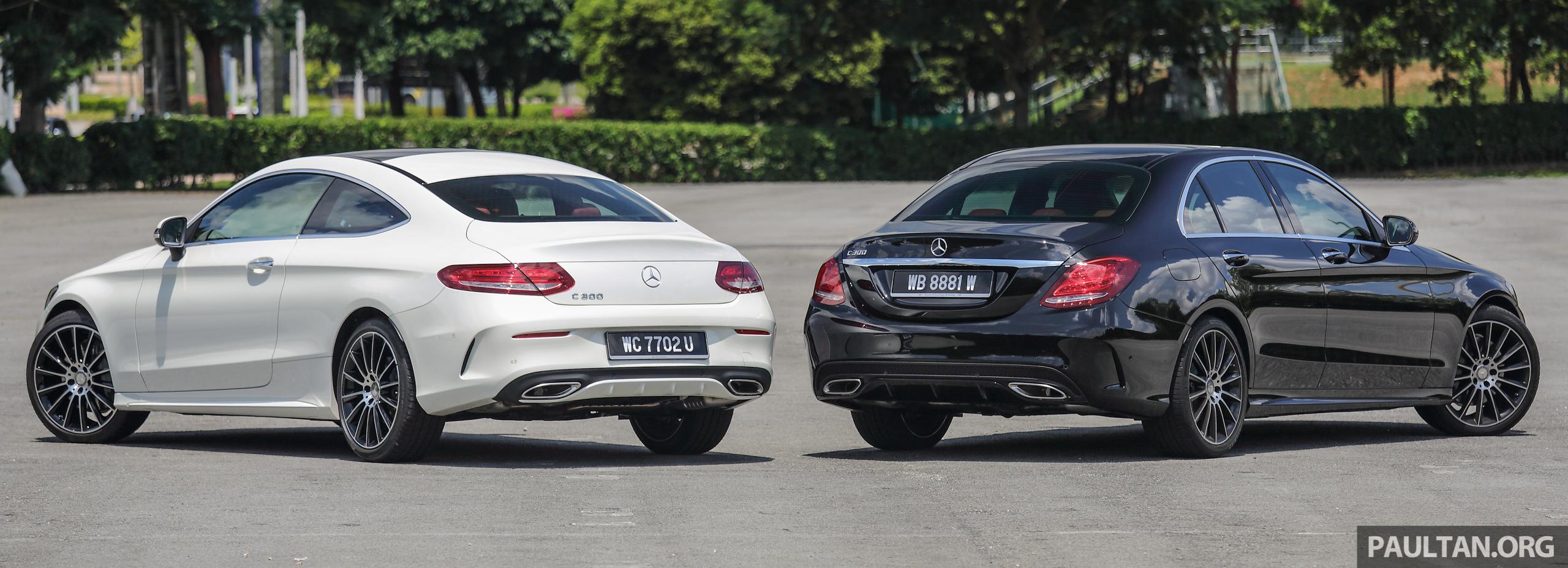 Coupe Vs Sedan >> GALLERY: Mercedes-Benz C300 Coupe vs sedan Image 495917