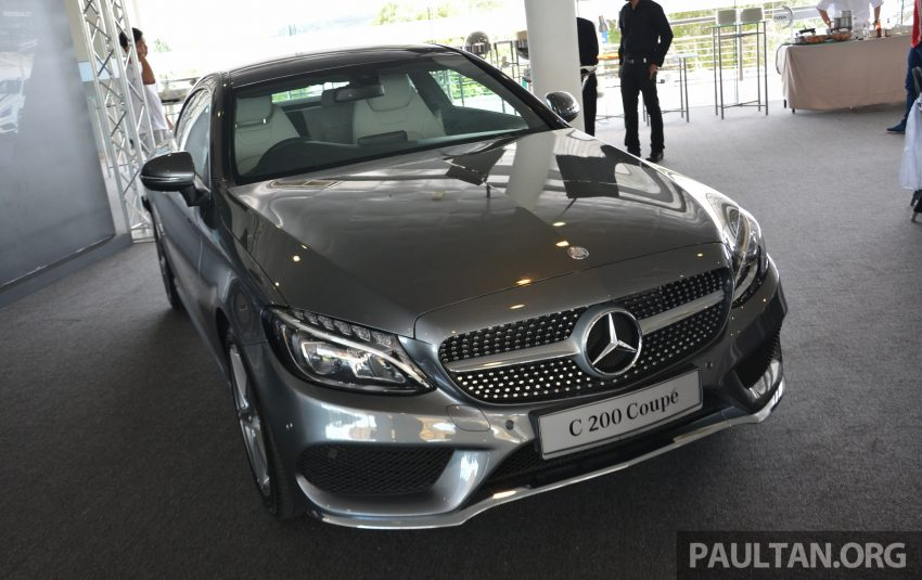 C205 Mercedes-Benz C-Class Coupe launched in Malaysia – three variants, RM309k to RM389k Image #495869