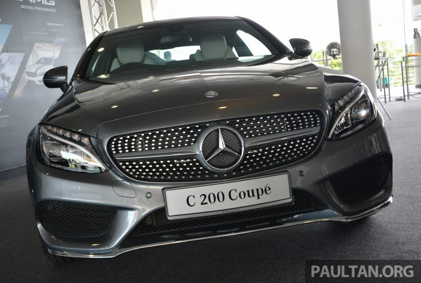 C205 Mercedes-Benz C-Class Coupe launched in Malaysia – three variants, RM309k to RM389k Image #495880