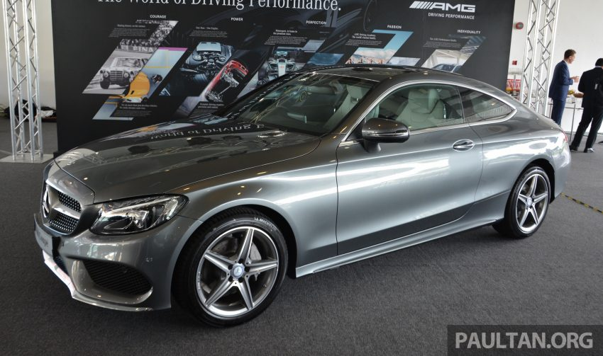 C205 Mercedes-Benz C-Class Coupe launched in Malaysia – three variants, RM309k to RM389k Image #495883