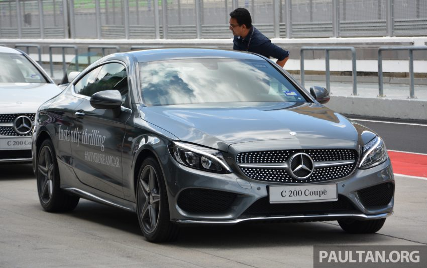 C205 Mercedes-Benz C-Class Coupe launched in Malaysia – three variants, RM309k to RM389k Image #495886