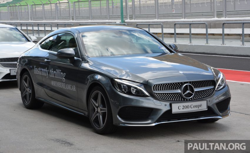 C205 Mercedes Benz C Class Coupe Launched In Malaysia