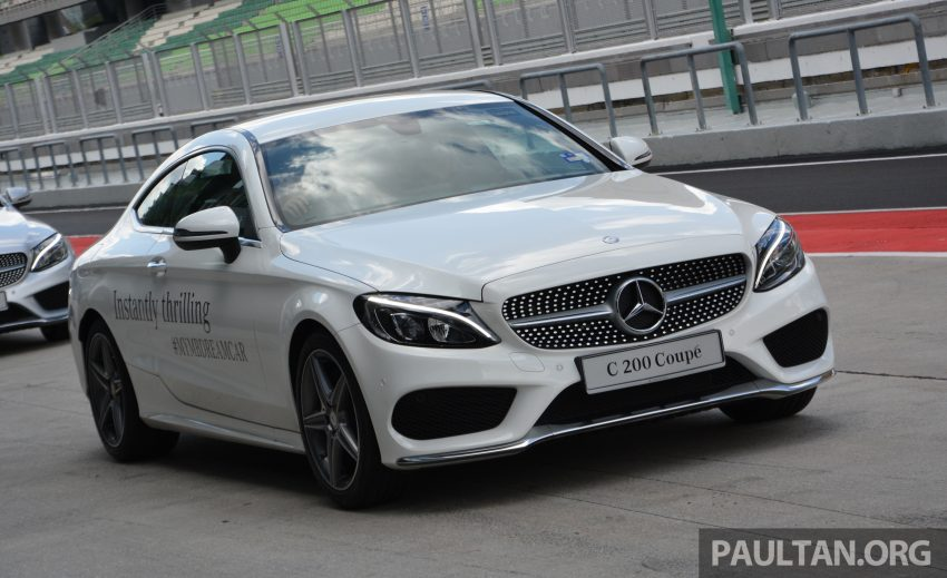 C205 Mercedes-Benz C-Class Coupe launched in Malaysia – three variants, RM309k to RM389k Image #495890