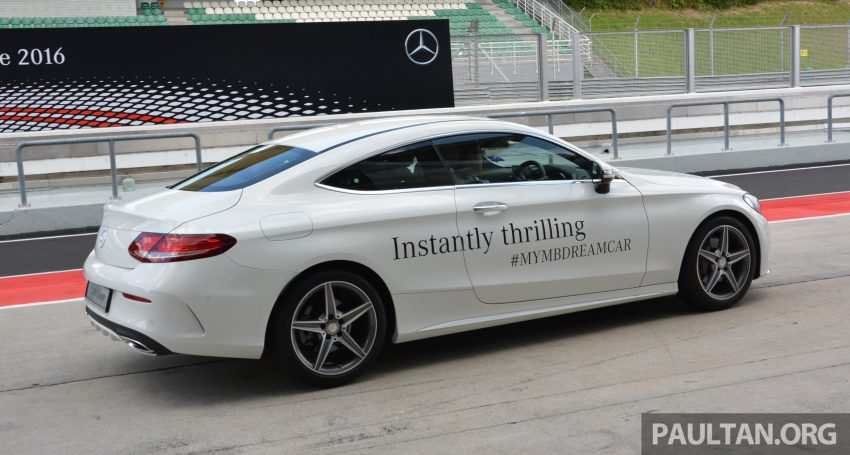 C205 Mercedes-Benz C-Class Coupe launched in Malaysia – three variants, RM309k to RM389k Image #495891