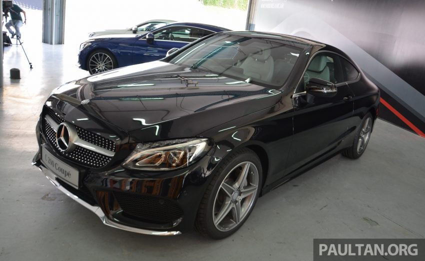 C205 Mercedes-Benz C-Class Coupe launched in Malaysia – three variants, RM309k to RM389k Image #495895