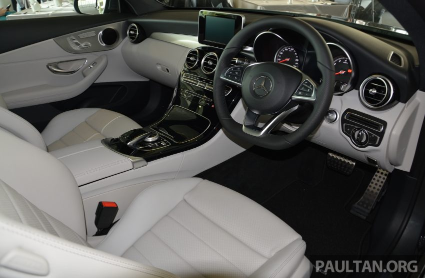 C205 Mercedes-Benz C-Class Coupe launched in Malaysia – three variants, RM309k to RM389k Image #495871