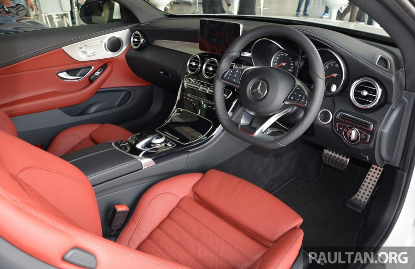 C205 Mercedes-Benz C-Class Coupe launched in Malaysia – three variants, RM309k to RM389k Image #495851