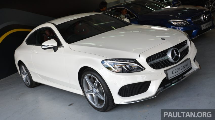 C205 Mercedes-Benz C-Class Coupe launched in Malaysia – three variants, RM309k to RM389k Image #495857