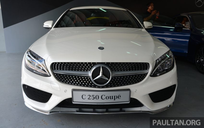 C205 Mercedes-Benz C-Class Coupe launched in Malaysia – three variants, RM309k to RM389k Image #495858