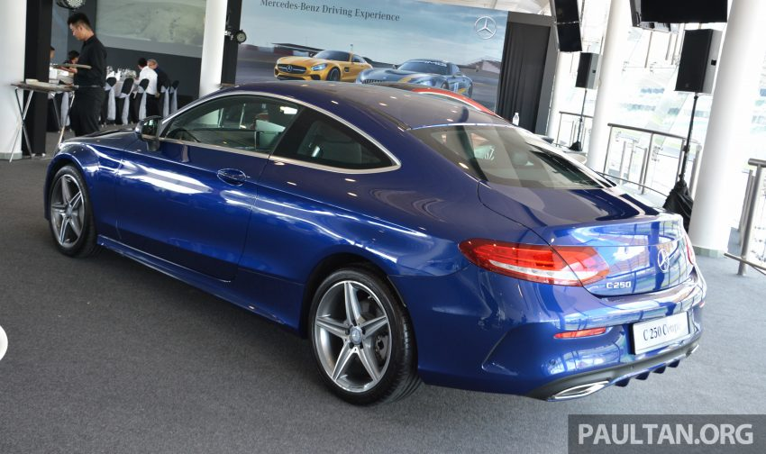 C205 Mercedes-Benz C-Class Coupe launched in Malaysia – three variants, RM309k to RM389k Image #495859