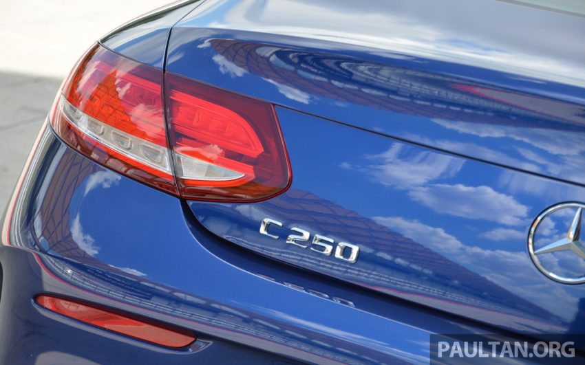 C205 Mercedes-Benz C-Class Coupe launched in Malaysia – three variants, RM309k to RM389k Image #495842