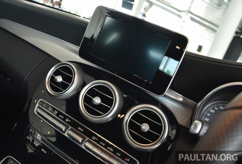 C205 Mercedes-Benz C-Class Coupe launched in Malaysia – three variants, RM309k to RM389k Image #495864