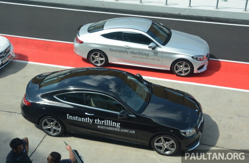 C205 Mercedes-Benz C-Class Coupe launched in Malaysia – three variants, RM309k to RM389k Image #495899