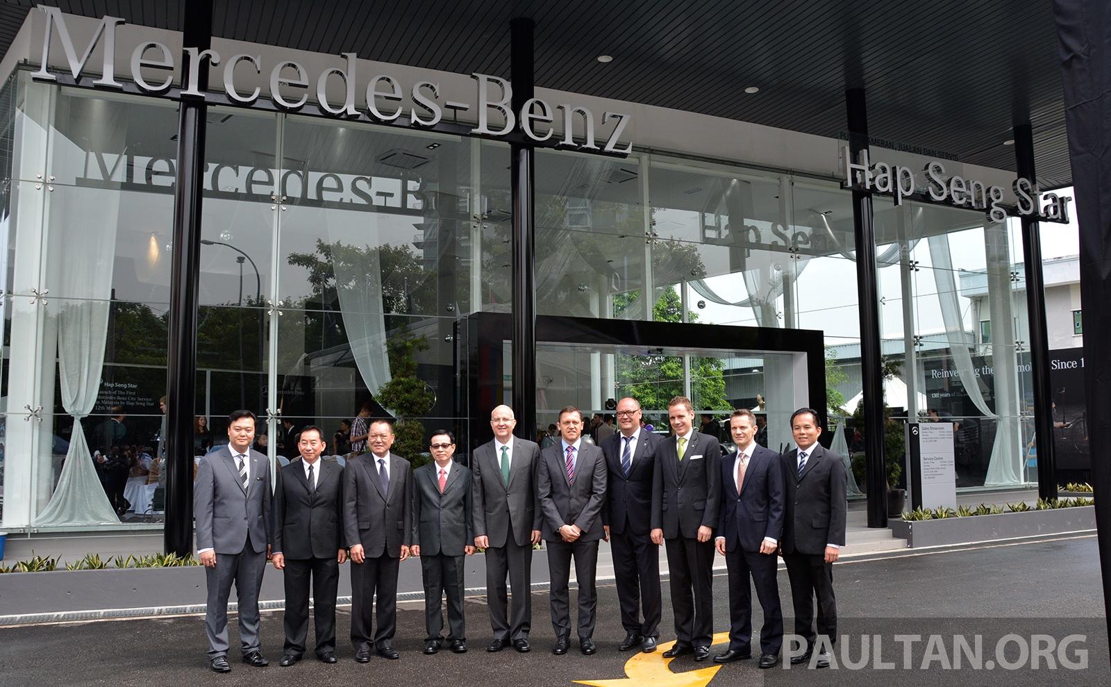Mercedes benz city service on jalan ipoh kl premier for Mercedes benz financial services customer service phone number