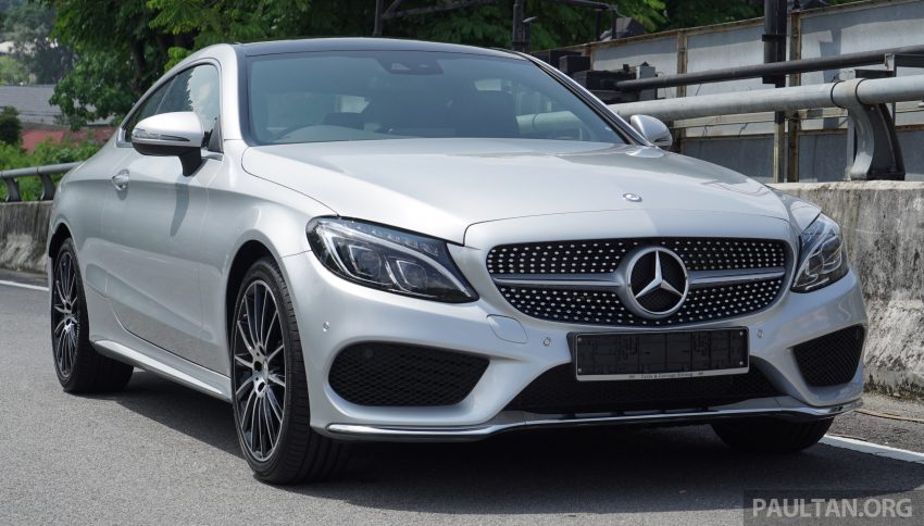 C205 Mercedes-Benz C-Class Coupe launched in Malaysia – three variants, RM309k to RM389k Image #495273