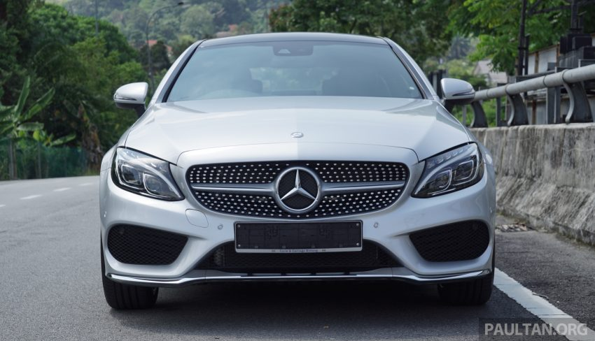 C205 Mercedes-Benz C-Class Coupe launched in Malaysia – three variants, RM309k to RM389k Image #495274