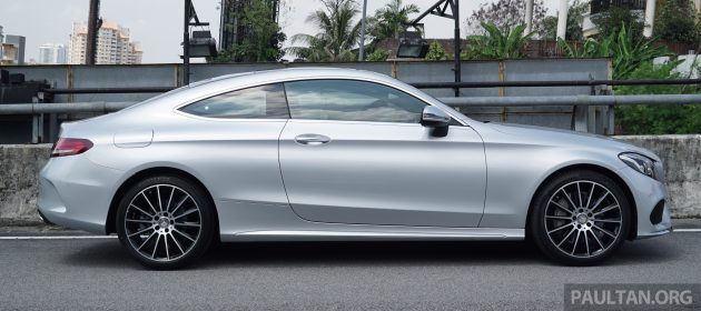 Mercedes-Benz_C300_Coupe_AMG_Line_Malaysia_004