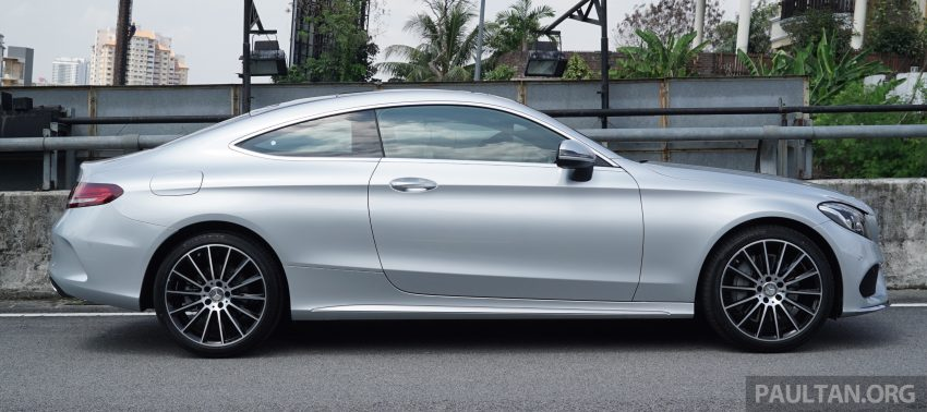 C205 Mercedes-Benz C-Class Coupe launched in Malaysia – three variants, RM309k to RM389k Image #495275