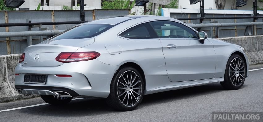 C205 Mercedes-Benz C-Class Coupe launched in Malaysia – three variants, RM309k to RM389k Image #495276