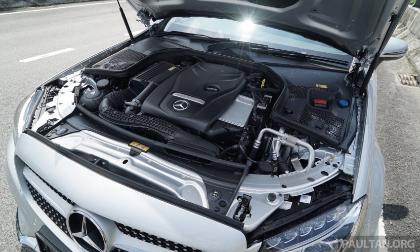 C205 Mercedes-Benz C-Class Coupe launched in Malaysia – three variants, RM309k to RM389k Image #495243