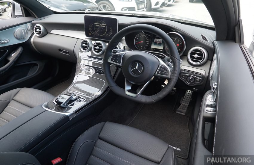 C205 Mercedes-Benz C-Class Coupe launched in Malaysia – three variants, RM309k to RM389k Image #495247