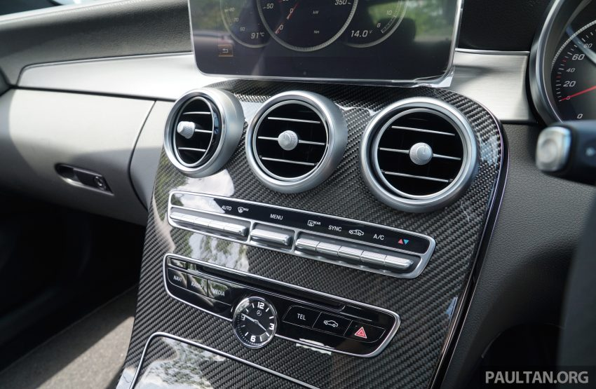 C205 Mercedes-Benz C-Class Coupe launched in Malaysia – three variants, RM309k to RM389k Image #495255
