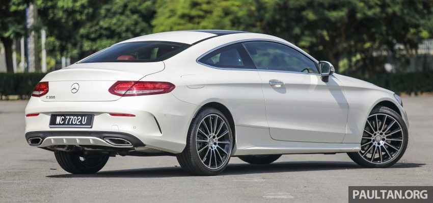 C205 Mercedes-Benz C-Class Coupe launched in Malaysia – three variants, RM309k to RM389k Image #495494