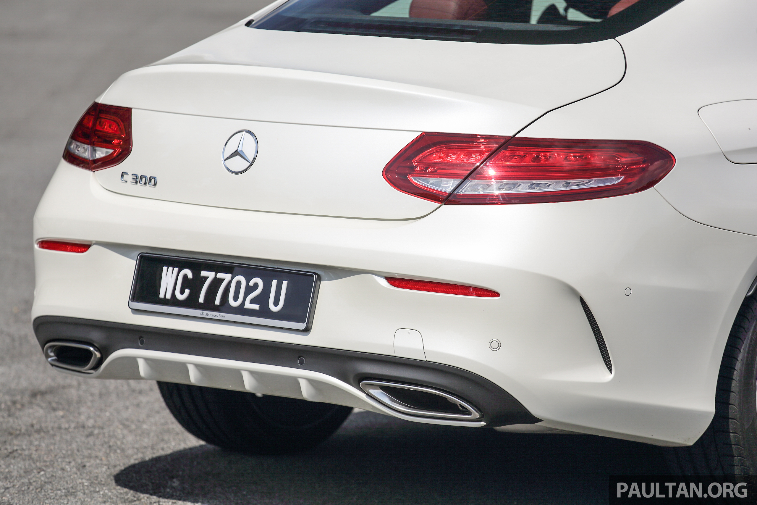 Mercedes C Coupe >> DRIVEN: Mercedes-Benz C300 Coupe, looks come first Paul Tan - Image 495419