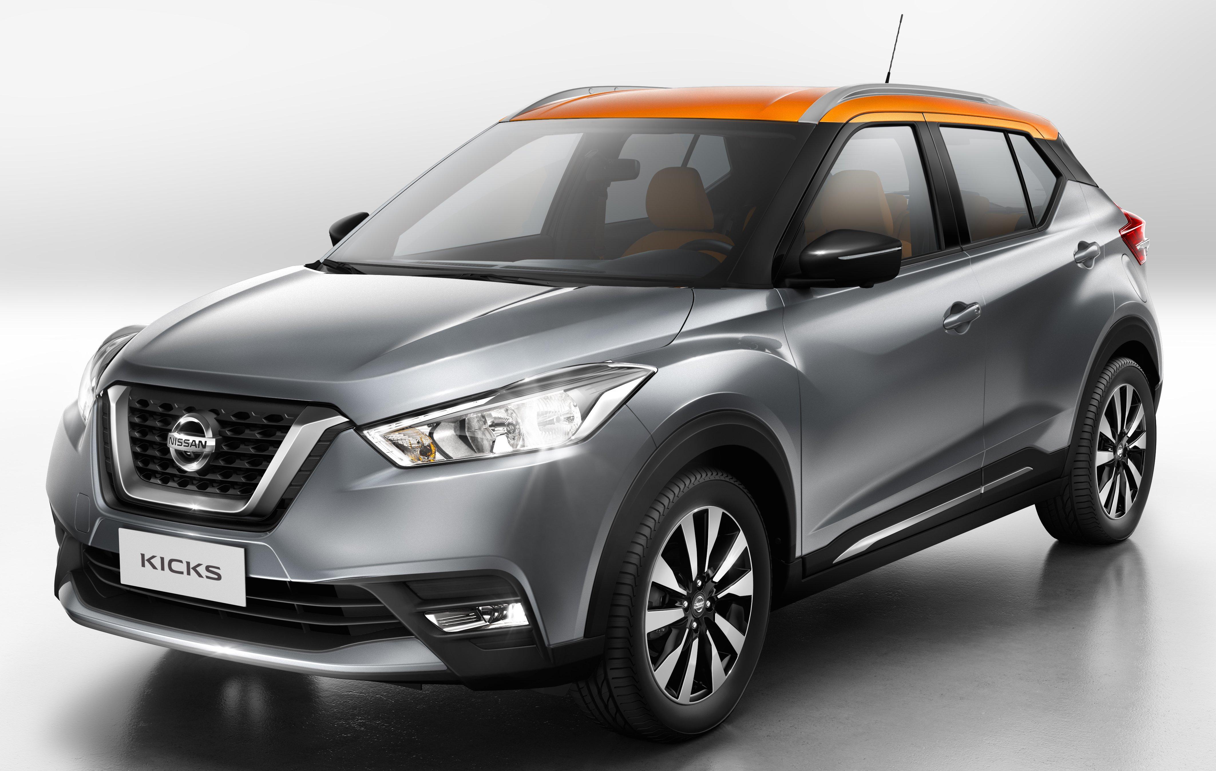 Nissan Kicks debuts - new Honda HR-V rival detailed