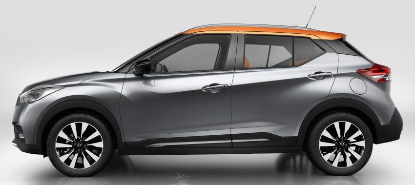 Nissan Kicks 2016 didedahkan, bakal bersaing dengan Honda HR-V dalam pasaran crossover segmen-B Image #487400