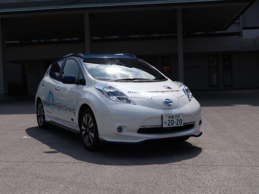 Nissan showcases ProPILOT autonomous tech at G7 Image #499877