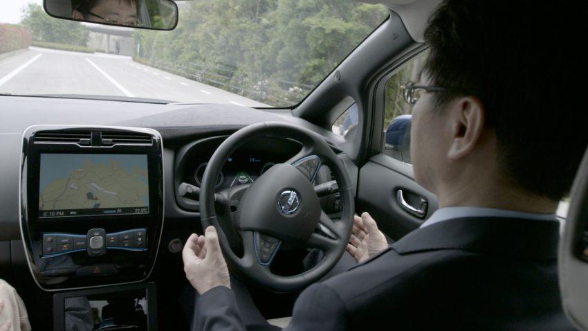 Nissan showcases ProPILOT autonomous tech at G7 Image #499869