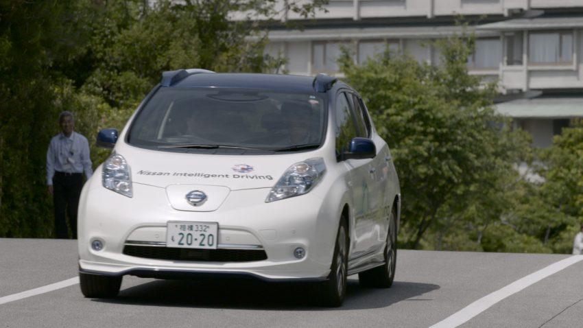 Nissan showcases ProPILOT autonomous tech at G7 Image #499871