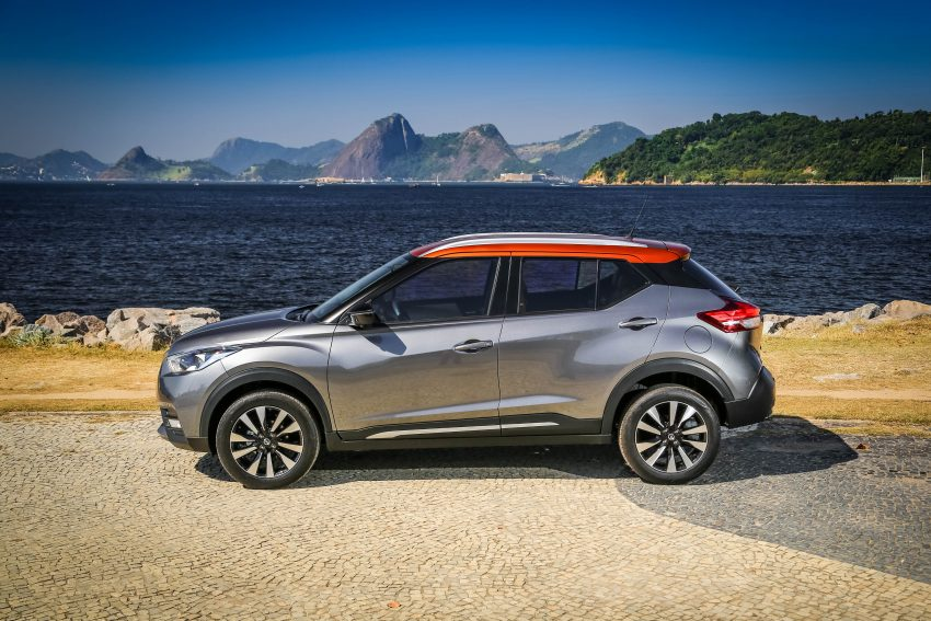 GALLERY: Nissan Kicks soaks up the Brazilian sun Image #487812