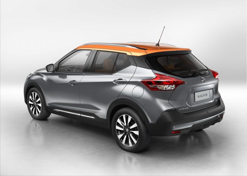 VIDEO: Nissan Kicks 2016 – sebuah lagi pencabar Honda HR-V dalam pasaran SUV segmen-B Image #490288