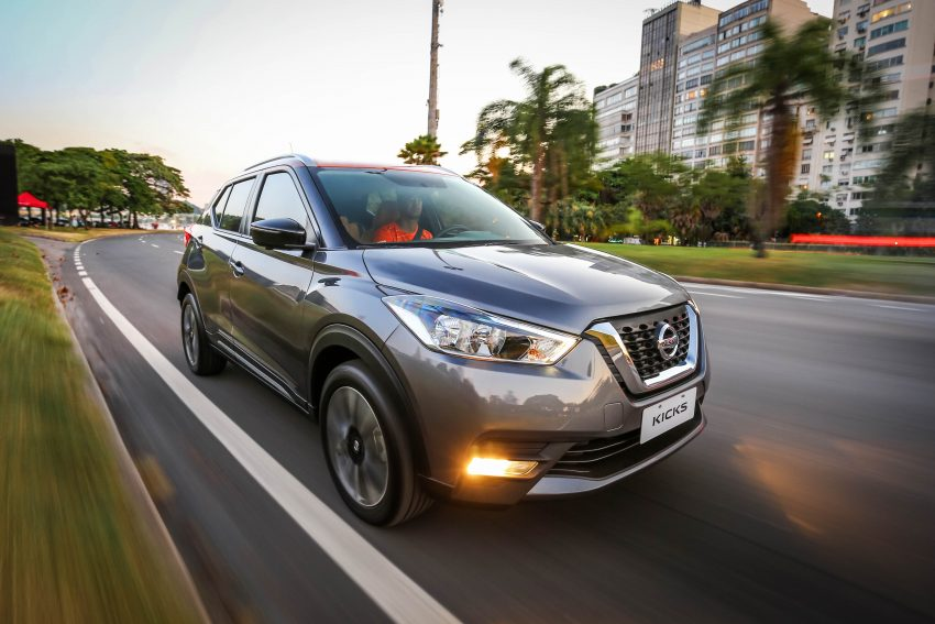 GALLERY: Nissan Kicks soaks up the Brazilian sun Image #487819