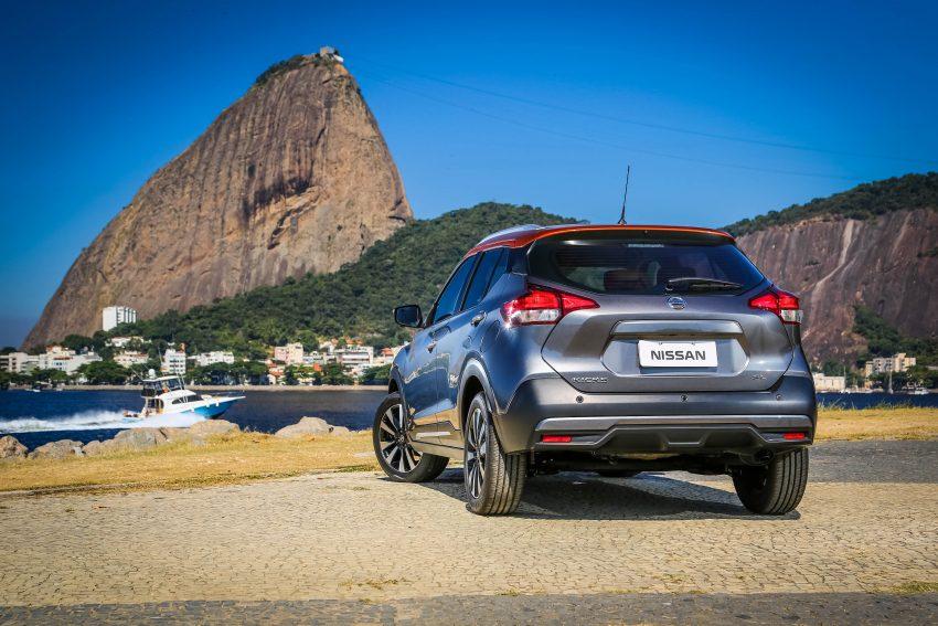 GALLERY: Nissan Kicks soaks up the Brazilian sun Image #487820