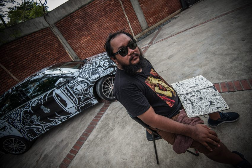Mercedes-Benz A200 art cars to be displayed at KLPac Image #491178