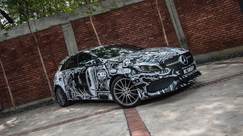 Mercedes-Benz A200 art cars to be displayed at KLPac Image #491180