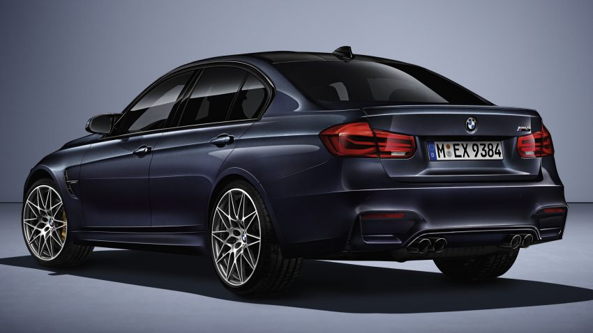 "BMW M3 ""30 Years M3"" celebrates sports sedan icon Image #500156"