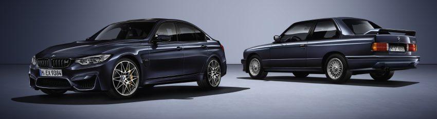 "BMW M3 ""30 Years M3"" celebrates sports sedan icon Image #500158"