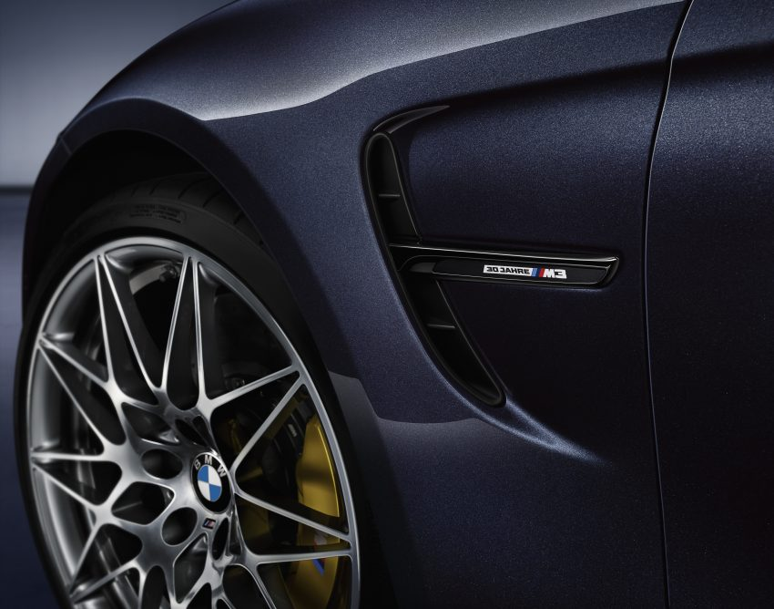 "BMW M3 ""30 Years M3"" celebrates sports sedan icon Image #500161"