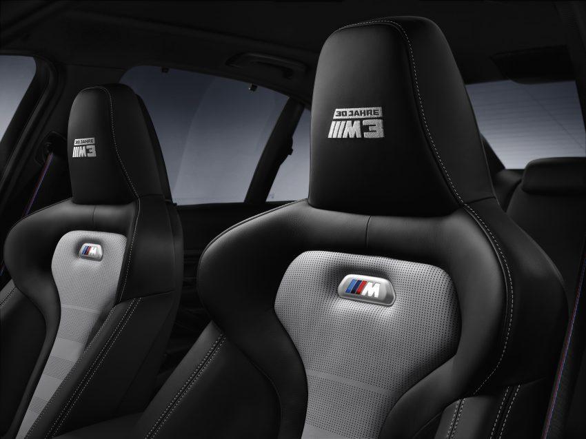 "BMW M3 ""30 Years M3"" celebrates sports sedan icon Image #500162"