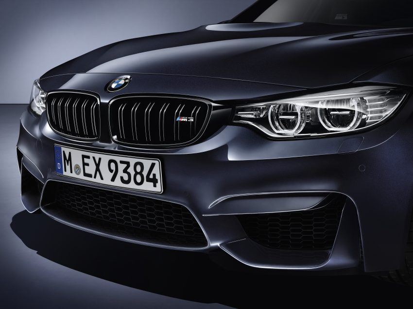 "BMW M3 ""30 Years M3"" celebrates sports sedan icon Image #500165"