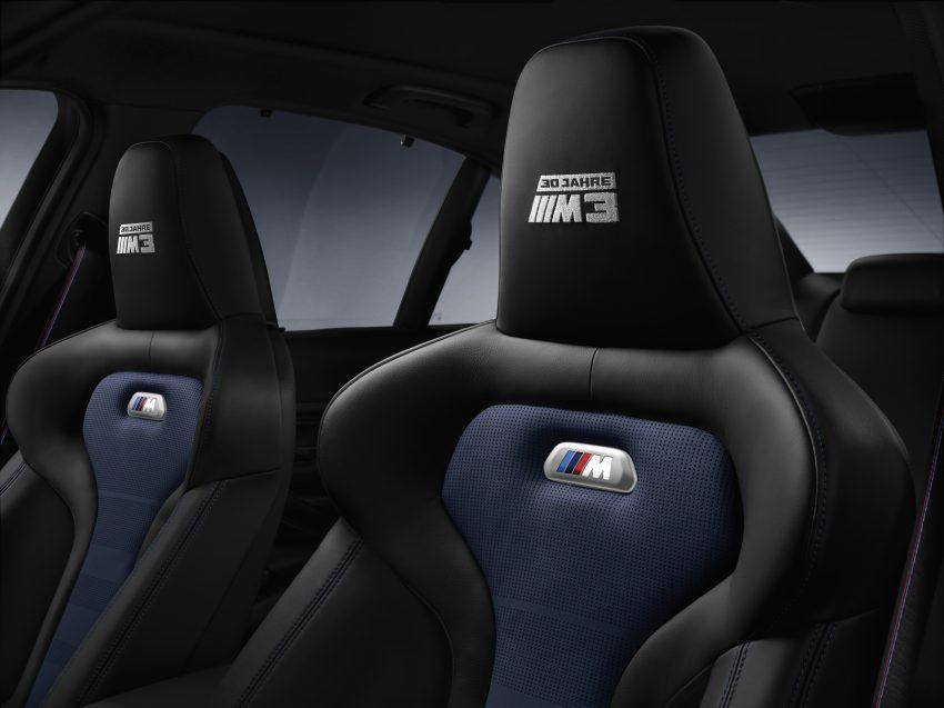 "BMW M3 ""30 Years M3"" celebrates sports sedan icon Image #500168"
